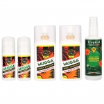 2x MUGGA EXTRA STRONG DEET 50% spray + 2x MUGGA EXTRA STRONG DEET 50% roll-on + Tropical FORMULA DEET 15% spray