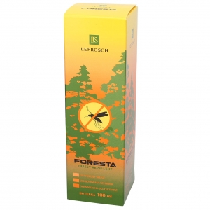 FORESTA na KOMARY i KLESZCZE DEET 30% IR 3535 20% spray 100 ml