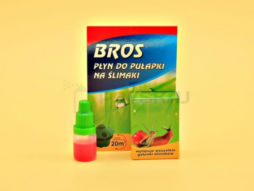 BROS płyn do pułapki na ślimaki 5 ml ŚLIMAKI