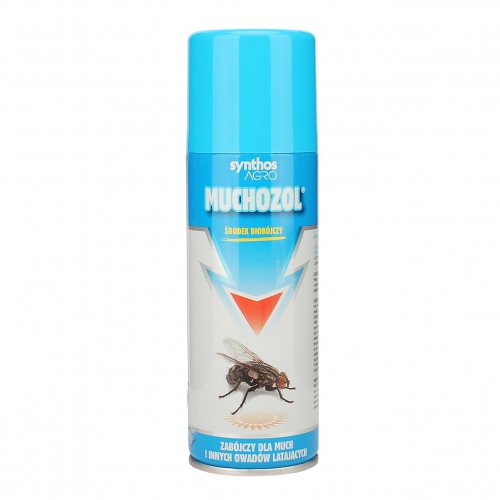 MUCHOZOL spray na MOLE, MUCHY, KOMARY, MESZKI aerozol 200 ml