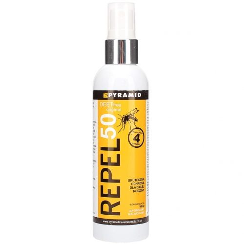REPEL 50 DEETfree ORIGINAL spray na KOMARY bez DEET 120 ml