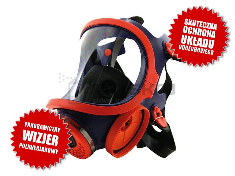Climax 732 S Silikonowa Wielorazowa Maska Przeciwgazowa